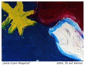 gelb cyan magenta